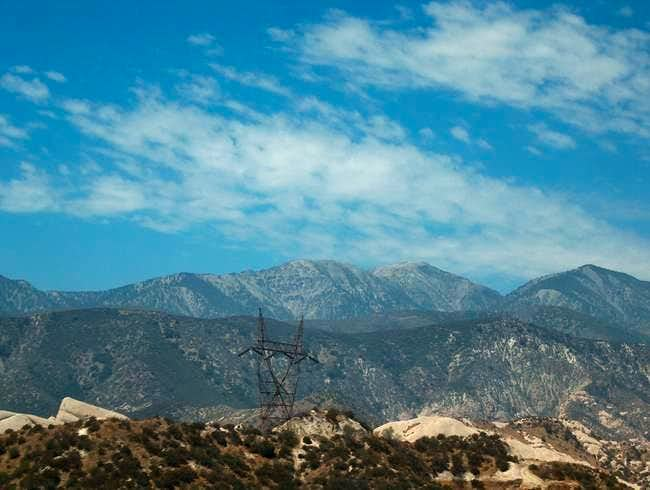The Back of Mt. Baldy as seen...