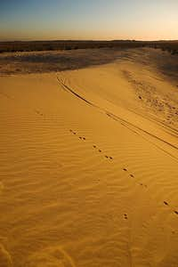 Devil's slide Sand Dune, Ocotillo Wells