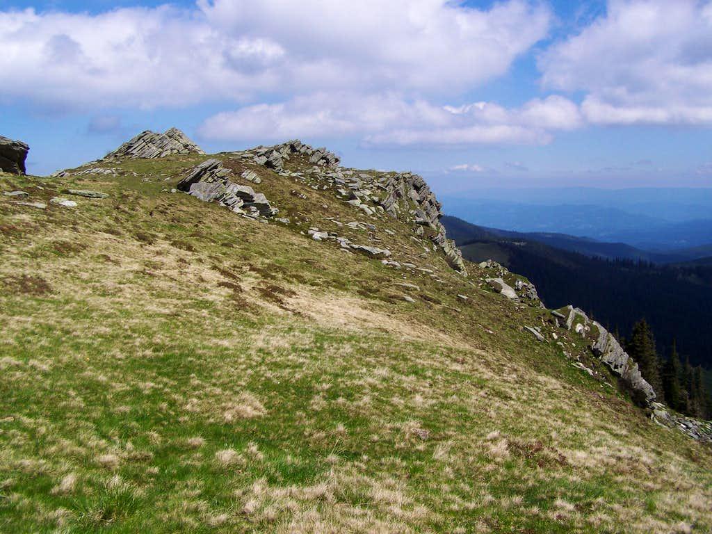 The summit of Glitzfelsen