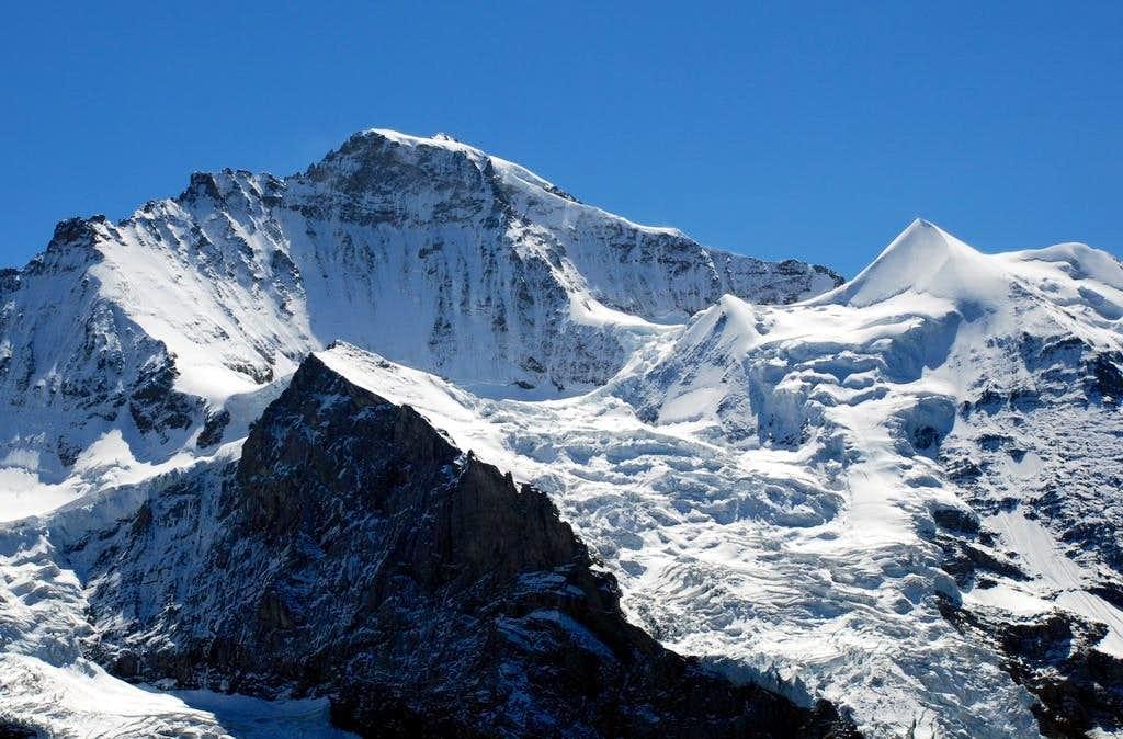 Jungfrau and the Silberhorn