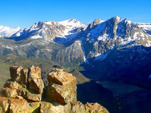 San Joaquin Mtn. and Carson Peak