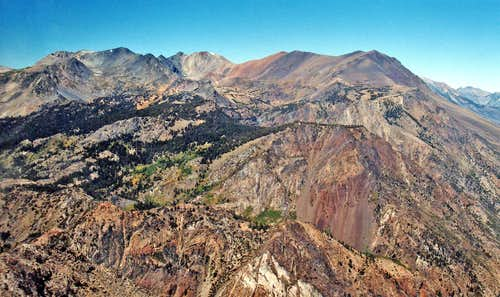 North from Carson Peak, 10,909\'
