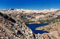 Northwest from Carson Peak