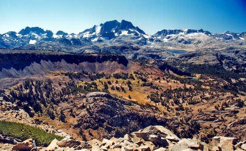 Ritter Range from Carson Peak