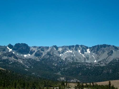 The Mammoth Crest as seen...