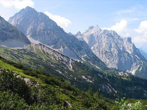 Tiefkarspitze and Westliche...