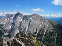 Kleiner (2637 m) and Großer...