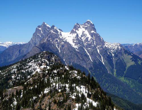 Hozomeen Mountain, North Peak