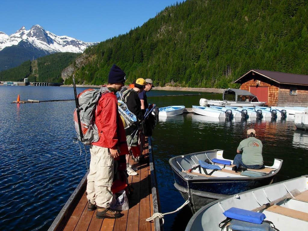 Preparing Boats For Desolation