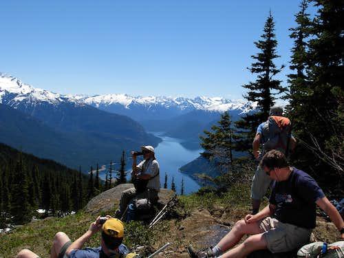 Group Break On Desolation Peak
