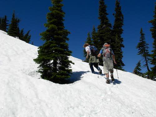 Desolation Peak Summit Ridge