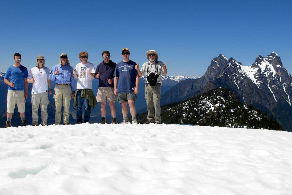 Group Pose On Desolation Summit