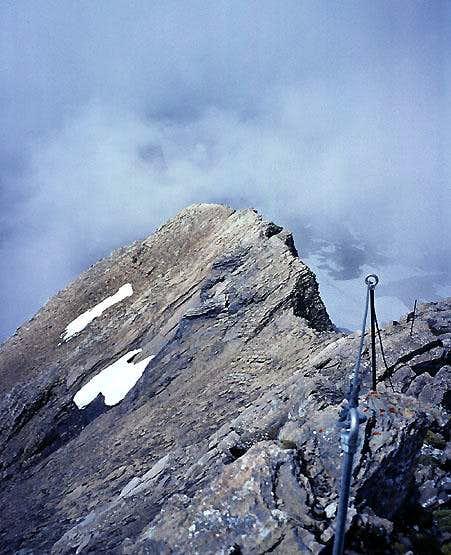 Schwarzhorn, SW Ridge Klettersteig
