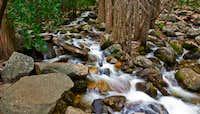 Creek Beneath Bridal Veil Falls, Yosemite Ca