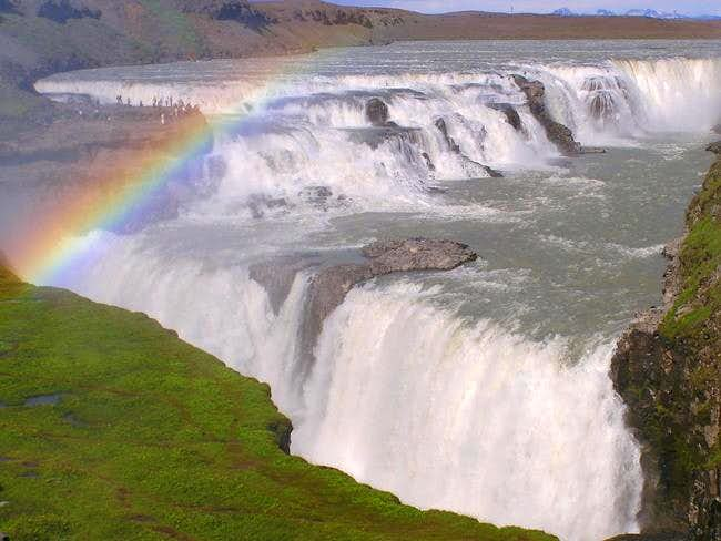 Gullfoss, one of the nearby...