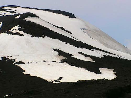 First false summit from the...