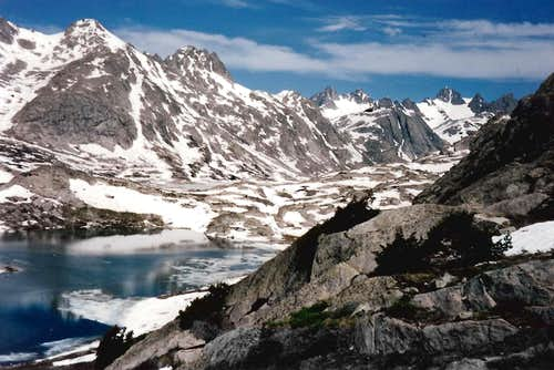 Titcomb Basin, Winds