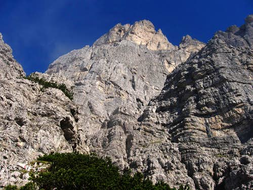 At the begin of the ferrata