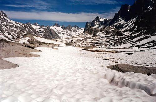 Titcomb snowfield