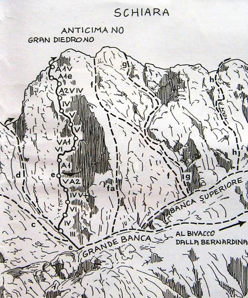 Northwest flank
