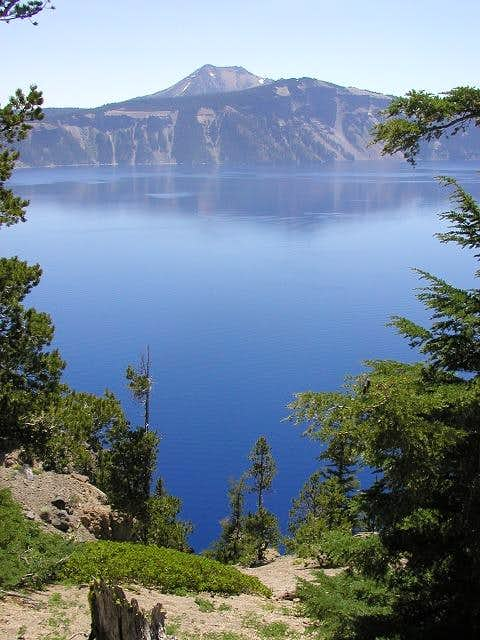 Mt. Scott and Crater Lake.