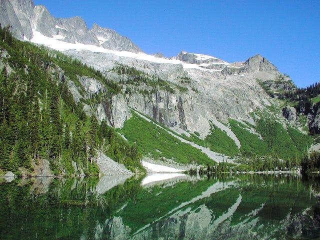 Bonanza Peak's summit is the...