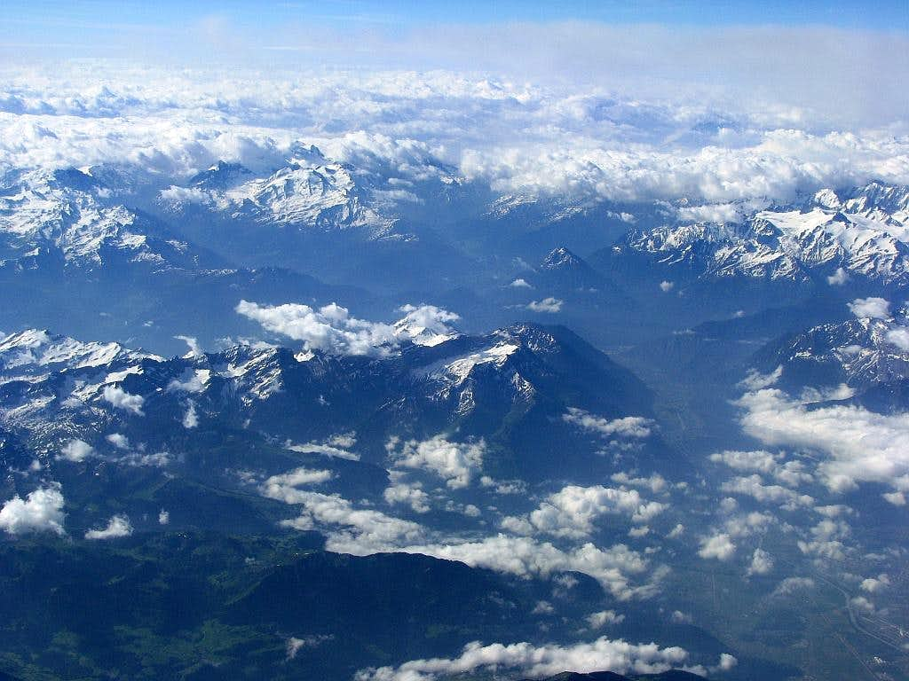 Above the Alps