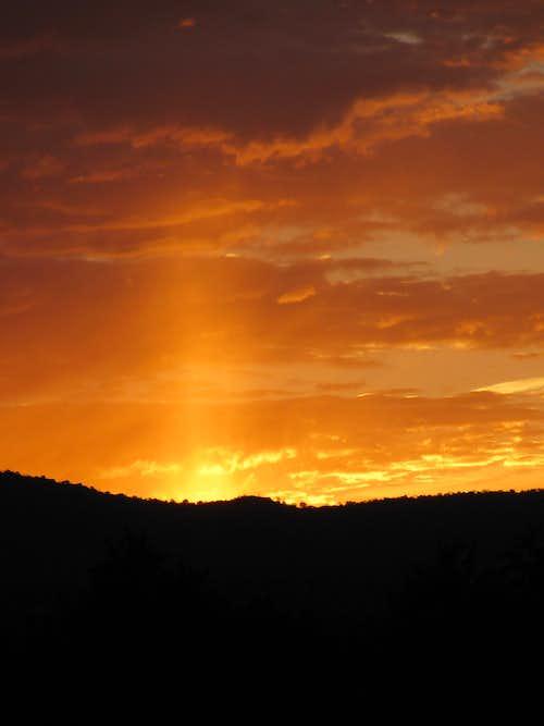 Sangres Sunset