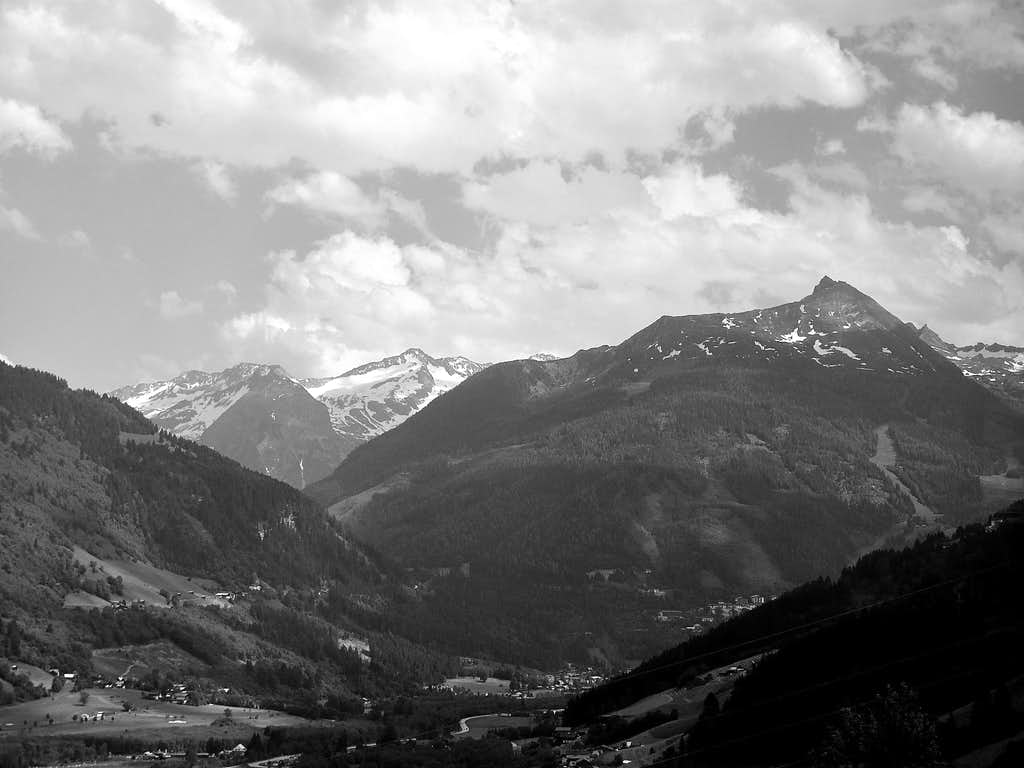 The upper Gastein valley