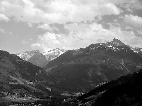 The upper Gastein valley