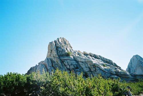 Echo Peak #8 from Echo Col,...