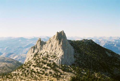 Cathedral Peak from Echo Col,...