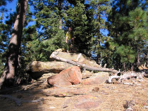 Summit blocks on Big Pine Mtn
