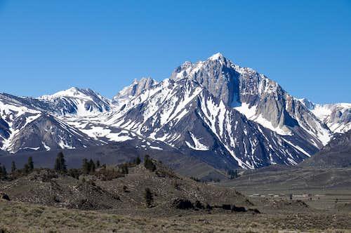 Mountain Views - Mount Morrison - 12,268 feet