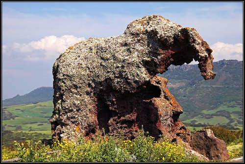 Elephant Rock on Sardinia