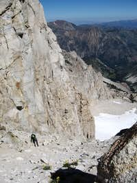 Top of East Couloir