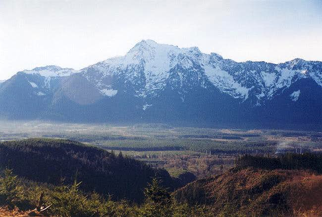 Whitehorse Mountain from the...
