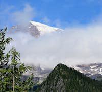 Pinnacle Peak View of Rainier