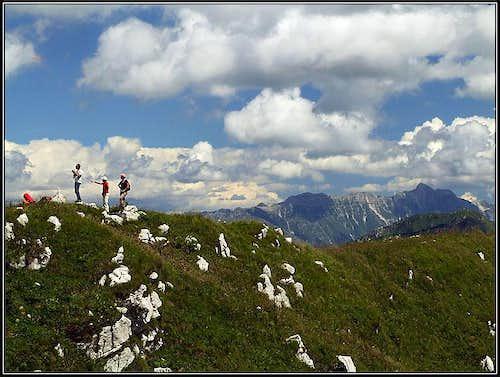 On Punta Lausciovizza / Lanzevica