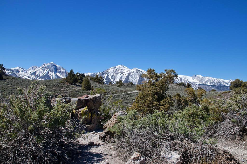 Mount Morrison and Laurel Mountain