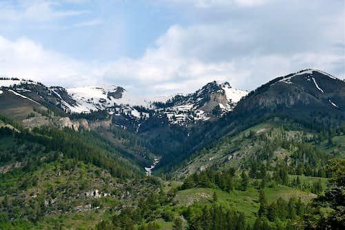 South Fork & Mt. Elmer