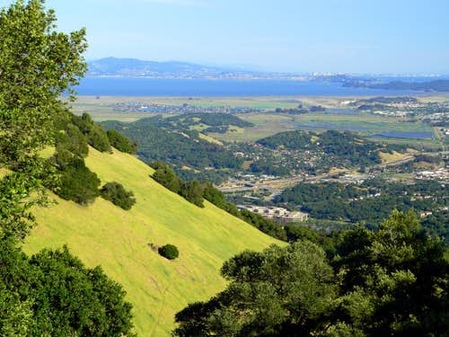 Burdell Mtn. view southeast