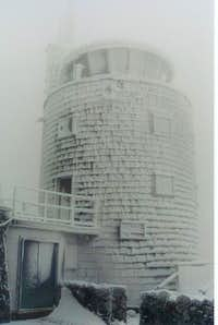Weather Tower on Whiteface...