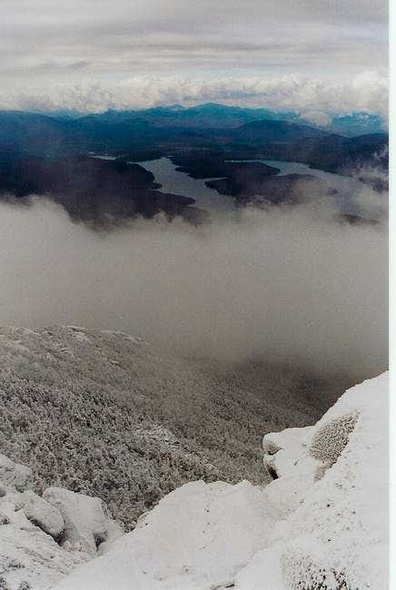 Lake Placid from Summit -...