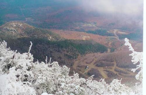 Wilmington Valley from the Northern Ridge of Whiteface...