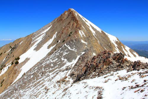 Nebo's summit pyramid.