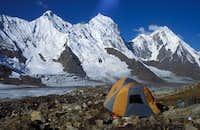 Haigutum Peaks from Base Camp - Karakoram