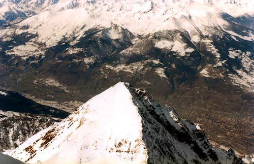 Becca di Nona (3142m) N-NE Ridge