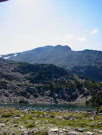 Lem Peak from Buck Lake #1...