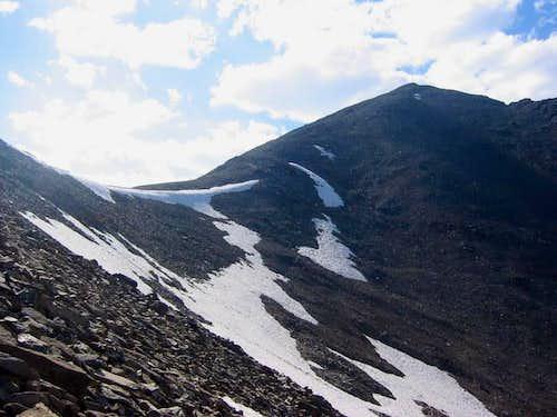 View towards Lem Peak from...
